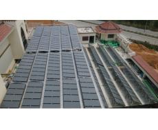 佛山祥乐居酒店---太阳能热水器工程