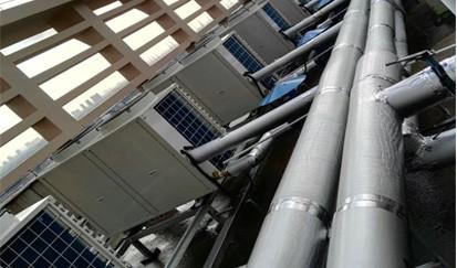 广东电子商务学校---学校空气能热水工程
