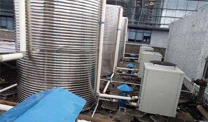 天一阁公寓---公寓空气能热水系统