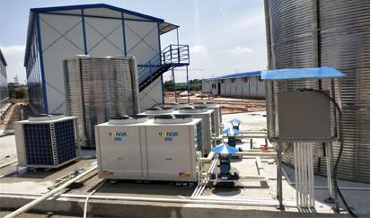 中建一局--工地空气能热水器