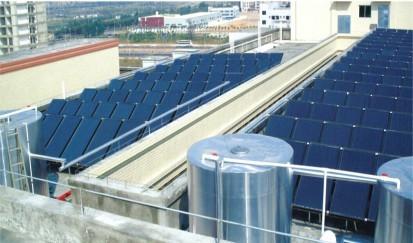 公庄小学---太阳能热水器工程