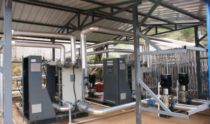 深圳光纳电子有限公司--空压机余热回收