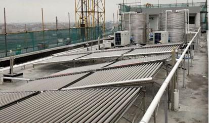 中国南方电网--工厂太阳能热水工程