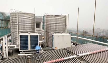 广州市天河吉兴旅馆---宾馆太阳能热水系统