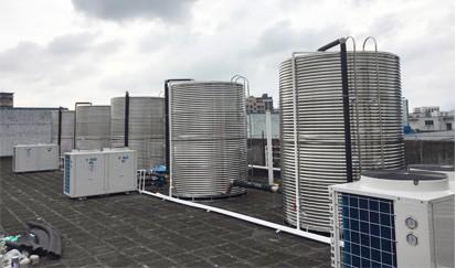 电连股份公司--宿舍热水工程