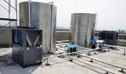 东莞松山湖技工学校---学校热水供应
