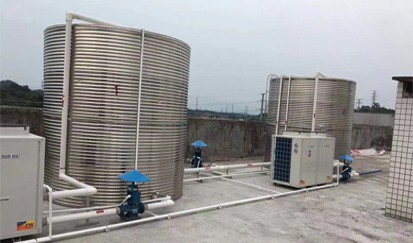 天一阁公寓---空气能热水器安装