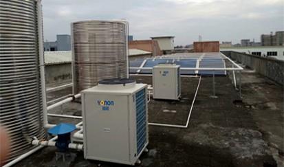 深圳南福休闲公寓---公寓太阳能热水工程