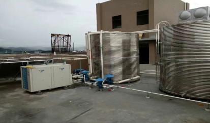 佛山祥乐居酒店---空气能热水器工程