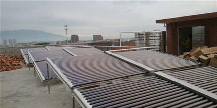 重庆木雅商务宾馆---太阳能热水器工程