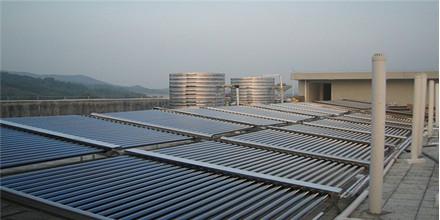 新丝路造型连锁---太阳能热水器工程