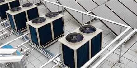 中山南菲亚酒店公寓---空气能热水器系统