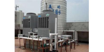 佛山屠宰场高温空气能热泵工程