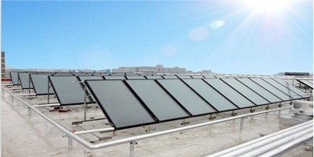 河北西城宾馆---太阳能热水器工程
