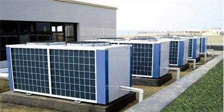 富华沐足---空气能热水器工程